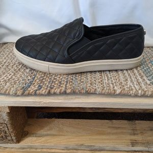Steve Madden Ecentrcq Black Slip On Sneakers